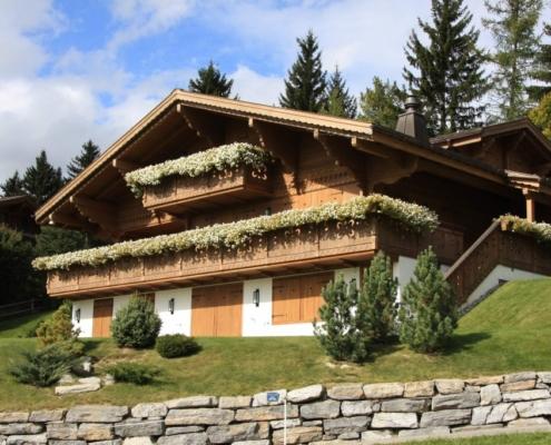 Chalet Aendi - Construction de chalets - Bach & Perreten