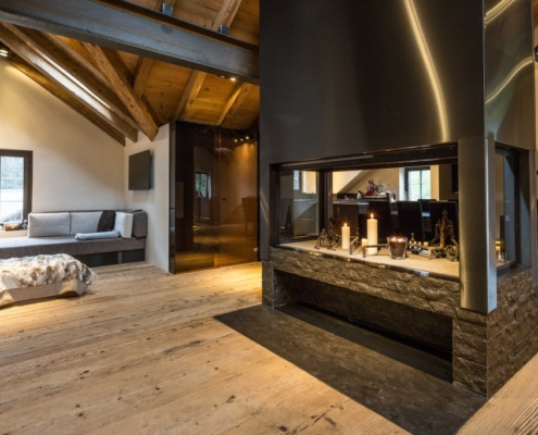 Chalet Apartment Gstaad - Carpentry / Joinery - Bach & Perreten