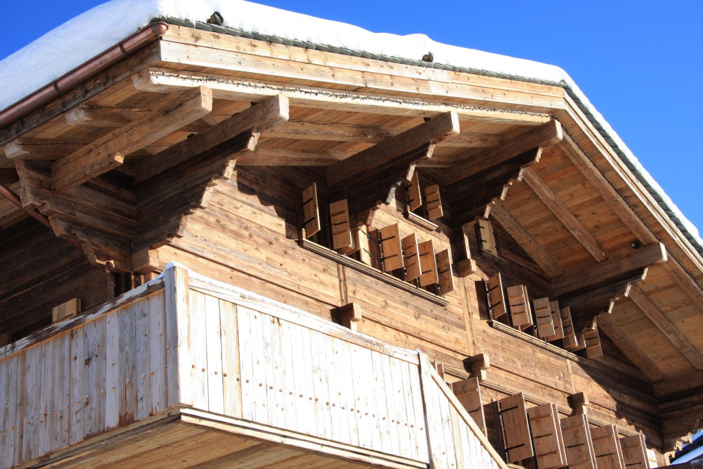 Chalet Bissen - Chalet construction - Bach & Perreten