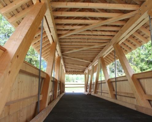 Reiterbrücke Mettlen - Carpentry - Bach & Perreten