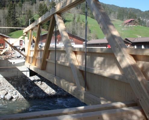 Reiterbrücke Mettlen - Charpenterie - Bach & Perreten