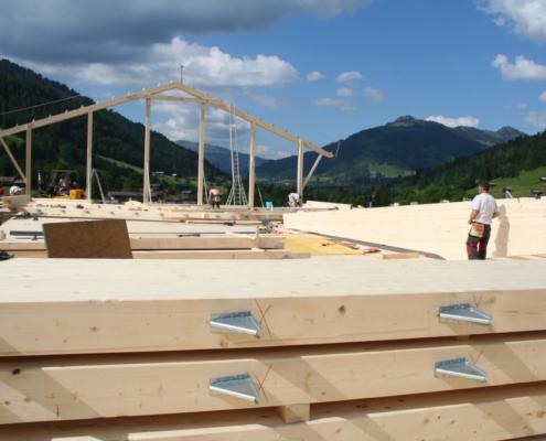 Scheunenneubau Gsteig - Carpentry - Bach & Perreten