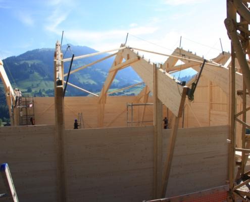 Scheunenneubau Wispile - Carpentry - Bach & Perreten