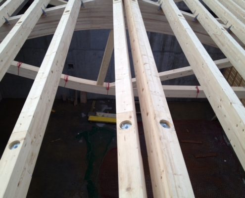 Werkhalle Bauwerk - Carpentry - Bach & Perreten